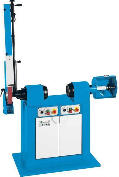 Kontaktbandschleif- und Poliermaschine ART 68