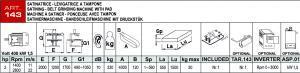 Langbandschleifmaschine Daten 120 mm
